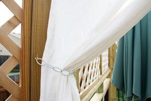 Как сделать подхват для штор