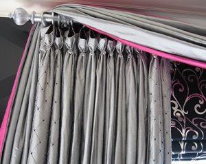 Современная фурнитура в дизайне штор
