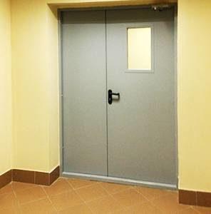 Особенности противопожарных дверей для промышленных помещений